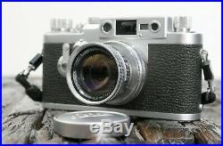 Leica IIIG No. 891814 M39 III G DBP Ernst Leitz GmbH Wetzlar mit Summicron 50mm