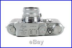 Leica IIIG with50mm f2 Summicron -1959 Vintage Rangefinder camera -Mint