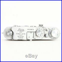 - Leica IIIa 35mm Rangefinder Camera Body # 316512, 1939