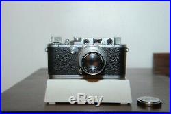 Leica IIIa 35mm Rangefinder with Wetzlar Ernst Leitz Wetzlar Summar 5cm F2 lens