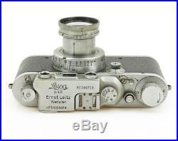 Leica IIIb Luftwaffen Eigentum with Summar 2/50 mm