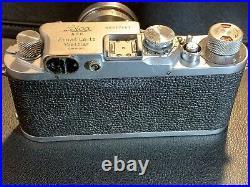 Leica IIIc Camera With Summitar 50 F2 Lens