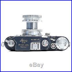 Leica IIIc-K Grey Film Rangefinder Body woth 5cm f2.0 Summitar