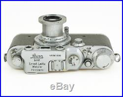Leica IIIc Luftwaffen Eigentum + Elmar 3.5/5 cm all original