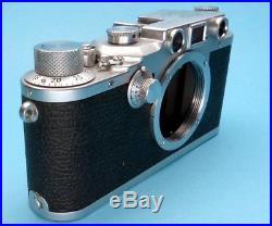 Leica IIIc Messsucherkamera (1942) Wartime Leica IIIc body, EXC condition