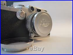 Leica IIIf 35mm Rangefinder Camera, Summitar f=5cm 12 Lens