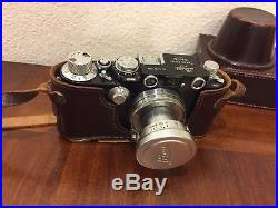 Leica IIIf BD Black Paint Working Condition! With Summitar 5cm Lens