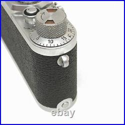 Leica IIIf Black Dial Vintage 35mm Rangefinder Film Camera LTM Screw MINT German