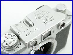Leica IIIf Gehäuse body Nr. 587888 schöner Zustand u. Schöne Nummer nice cond