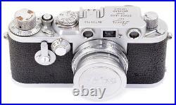 Leica IIIf No. 721742 mit E39 Summicron f=5cm 12 Leitz TOP CLEAN CONDITION