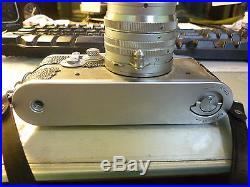Leica IIIg Rangefinder Film Camera