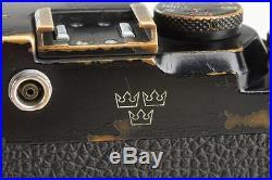 Leica IIIg black'3 crowns' // 24752,5