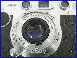 Leica IIc Elmar 3,5/50 schöner Originalzustand beautiful and original condition