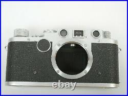 Leica IIf Gehäuse body Nr 572342 von from 1951/52