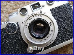 Leica IIf Rangefinder Camera Nr. 821760