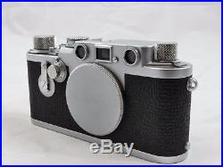 Leica Iiif Self Timer D/a 35mm Film Rangefinder Camera III F