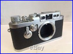 Leica Iiig Camera Body Very Clean Near Mint A+++