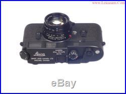 Leica KE-7A Civilian Camera With 50mm f2 Elcan Lens Nice RARE Set Near Mint-