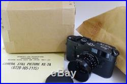 Leica KE-7A Military Camera + 2/50 Elcan Mint boxed