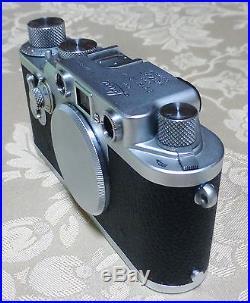 Leica Leitz 3F IIIF Camera # 773827 from Midland Canada 1955 CLA, d with Warranty