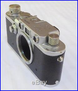 Leica Leitz 3F, IIIF Camera S/N 660789 from 1953 Red Flash # 6 Month warranty
