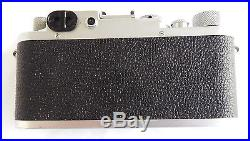 Leica Leitz 3F IIIF SM Camera # 531291 from 1950 90 day Warranty CLA'd Wetzlar