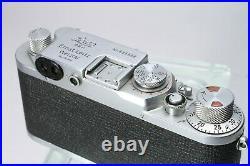 Leica Leitz Iiif Red Dial Rd Screw Mount Rangefinder Body #635668
