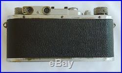 Leica Leitz Modell IIIA. 3A Cmera # 195538 Pre Ware 1936 refurbished Wetzlar