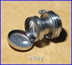 Leica Leitz Summitar 50mm f2 a vite M39 screw mount LSM no summicron summilux