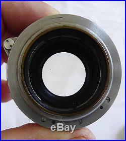Leica Leitz Summitar Screw Mount Lens 50mm F12 # 669307 from 1949 Wetzlar