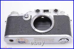 Leica Ltm Iiif Black Dial 35mm Range Finder Camera 1951