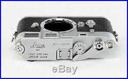 Leica M 3, #1038557, includes body cover