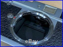Leica M1 35mm Rangefinder Vintage Film Camera Body with Body Cap Works Great