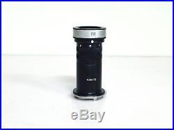 Leica M1 Messsucherkamera mit einem Sucher und Endoskop