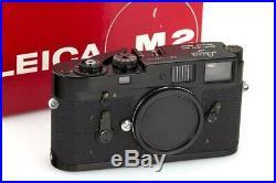 Leica M2 Black Paint // 32366,16