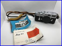 Leica M2 DBP Ernst Leitz Wetzlar GMBH Range Finder Camera Body Ex + 1054873