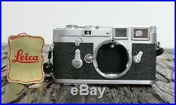 Leica M3 1961 S/N 1044345