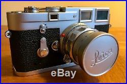 Leica M3 Chrome Dummy with Dummy 50mm f2 Summicron