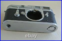 Leica M3 DS double stroke chrome camera body, all working