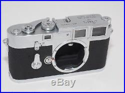 Leica M3 DS early production 35mm rangefinder camera. CLA'd by Youxin Ye