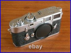 Leica M3 Double Stroke DS Rangefinder Camera Body Recent CLA Excellent User