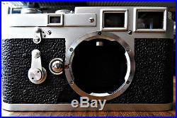 Leica M3 Double Stroke Rangefinder Camera Body, Clean Optics, Excellent Function