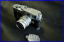 Leica M3 Film Camera, 50mm Summicron Lens and CaseFresh CLA