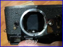Leica M3 Original Black Paint