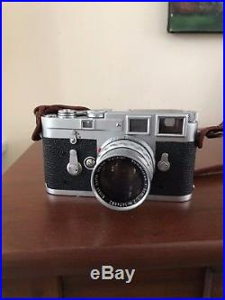 Leica M3 Single Stroke With 50mm f/2 Lens