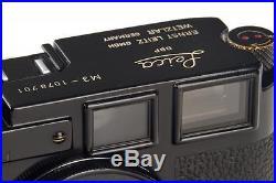 Leica M3 black paint // 28788,1
