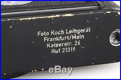 Leica M3 black paint'Foto Koch Leihgerät' // 23074,3