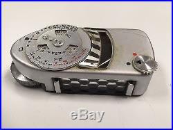 Leica M3 camera, 900 008, Leica meter MC, Summicron f=5cm 12 lens and case