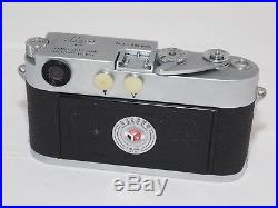 Leica M3 double stroke 35 rangefinder camera body. Exc. Condition. Early M3
