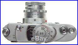Leica M3 rangefinder camera outfit with DR Summicron 2/50mm f=50mm lens cap case